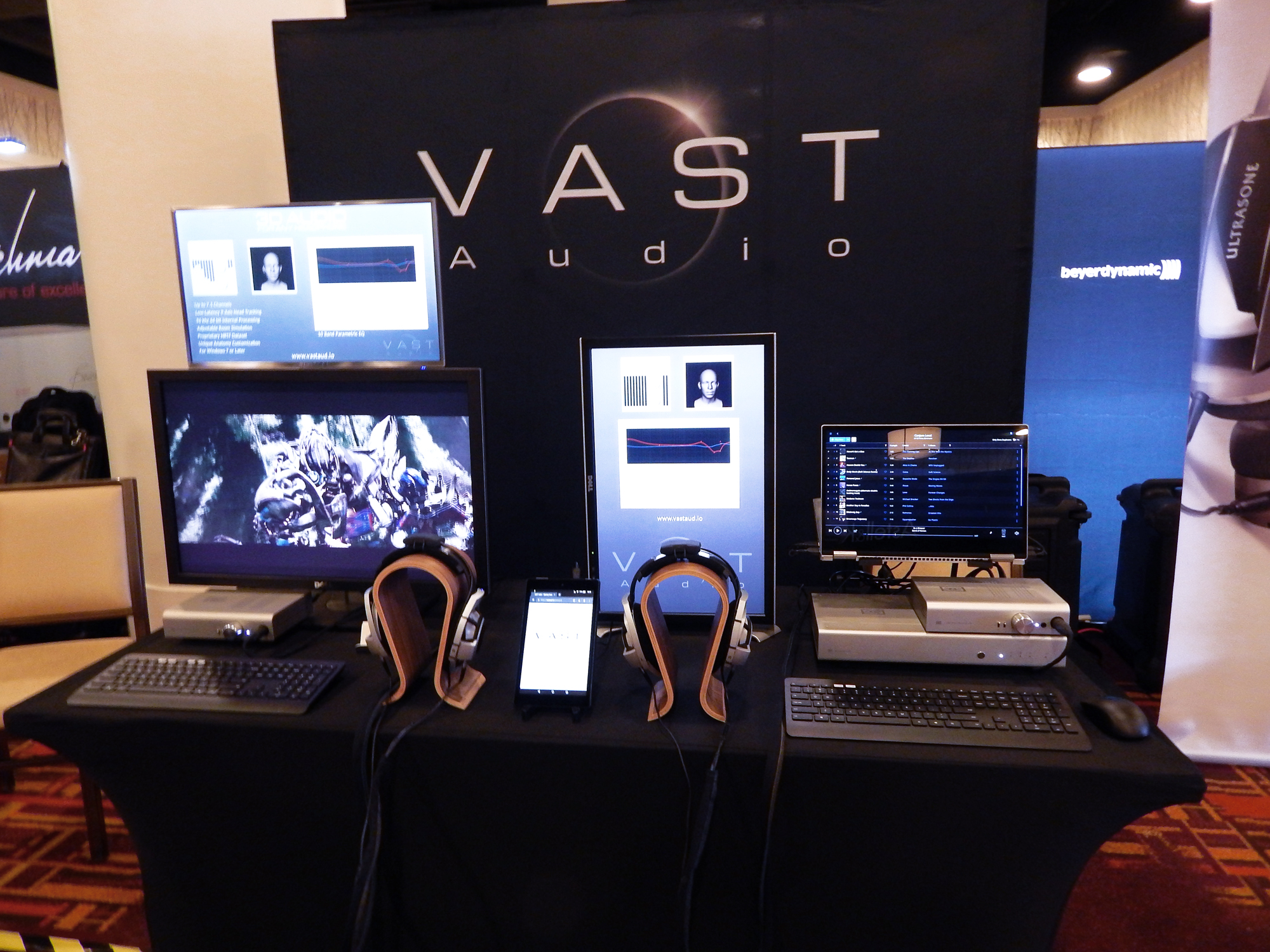 VAST Audio at CanJam SoCal 2018