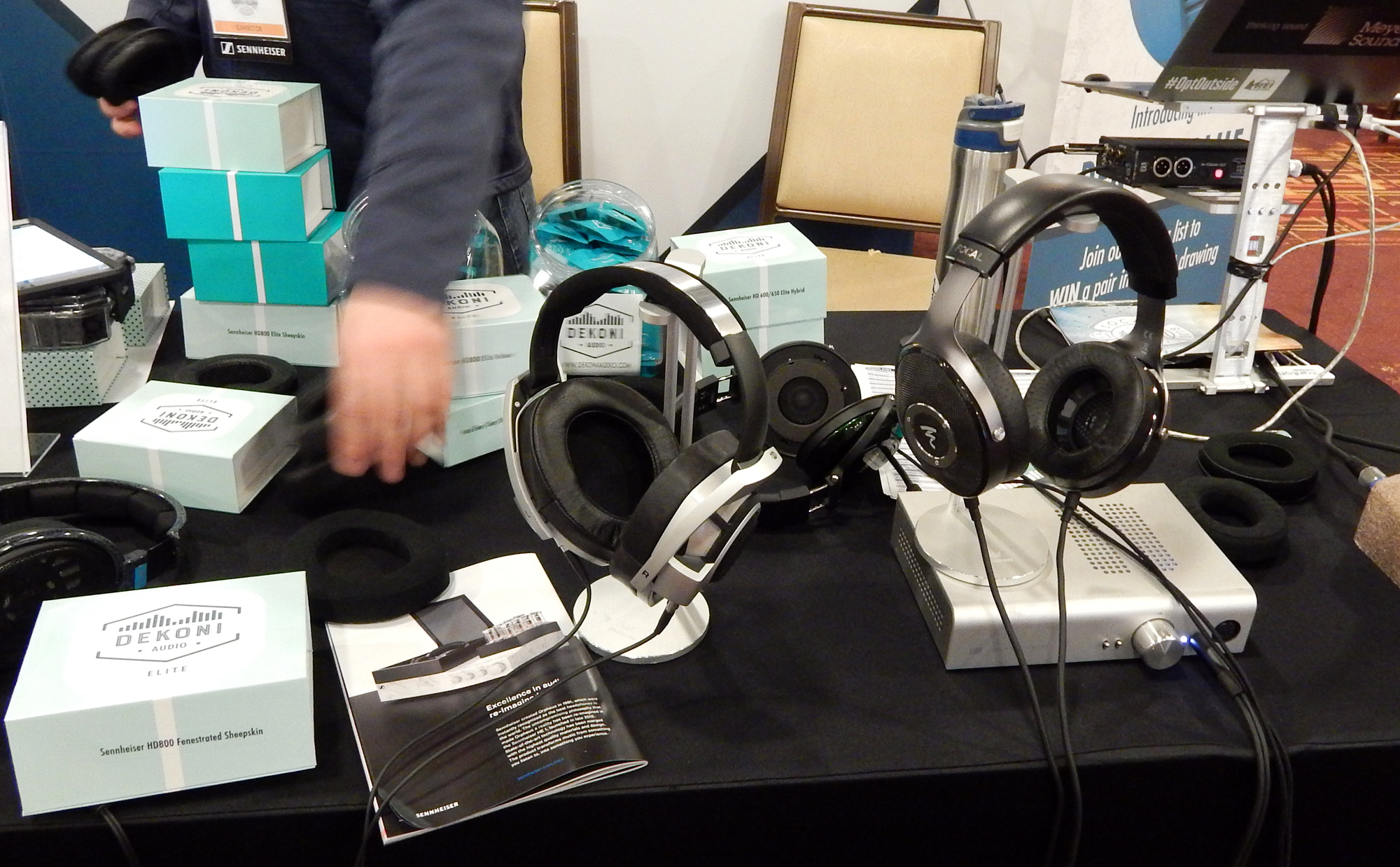 Dekoni Audio at CanJam SoCal 2018