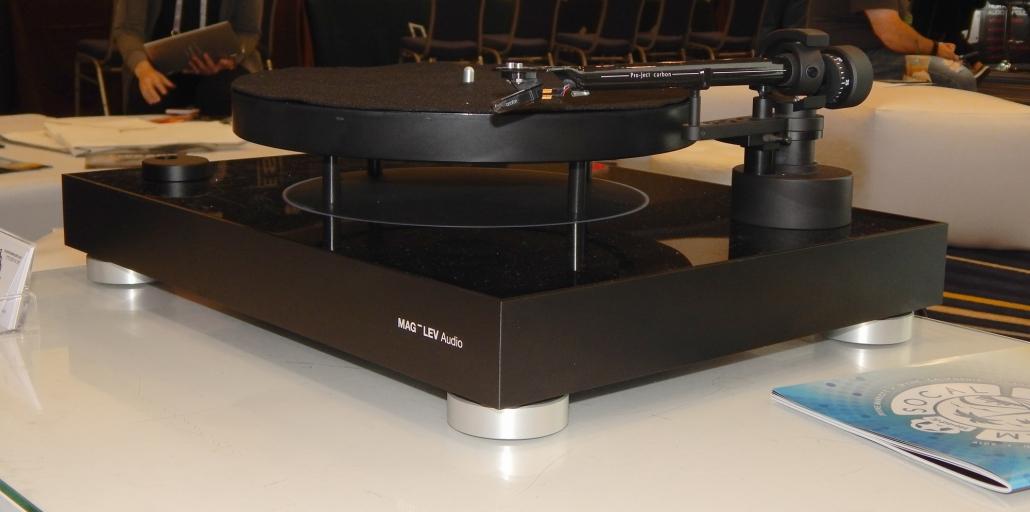 MAG-LEV Audio – ML1 turntable