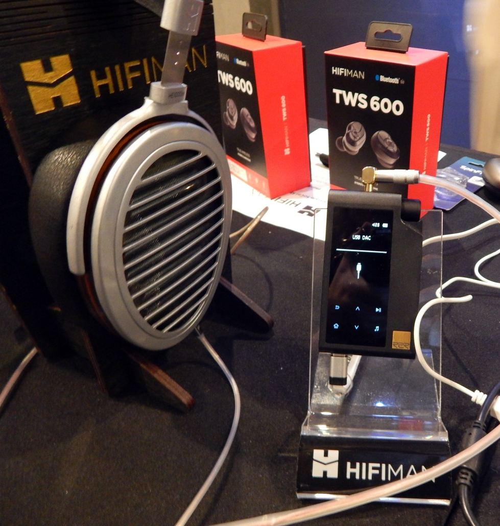 HiFiMan HE1000 V2 Reference Planar Magnetic Headphone, HiFiMan TWS600 True Wireless Hi-Fi Earphones, HiFiMan R2R2000 HD Streaming Audio Device