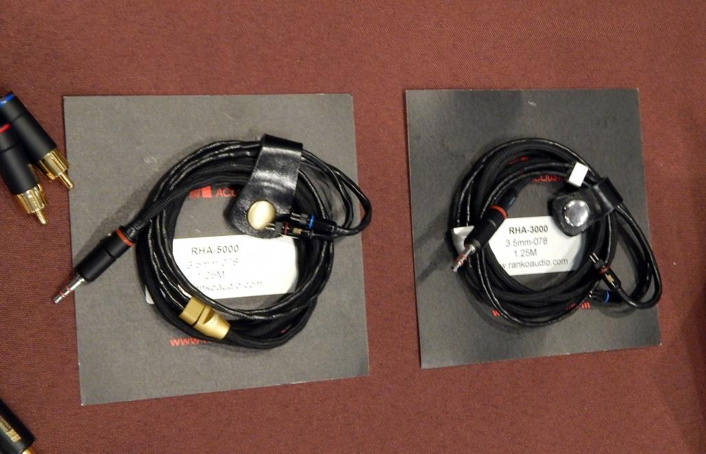 Ranko Acoustics Audio Cables Ranko Acoustics RHA-5000 IEM cable, Ranko Acoustics RHA-3000 IEM cable CanJam SoCal 2019