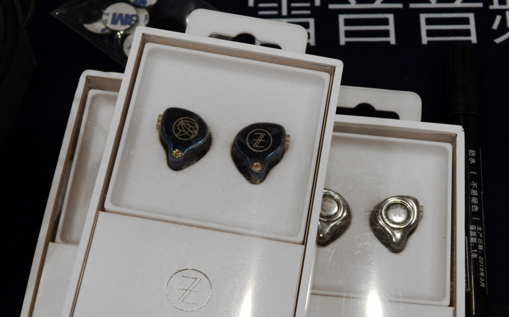 The Fragrant Zither T2 GALAXY IEMS, The Fragrant Zither KING II IEMS CanJam SoCal 2019