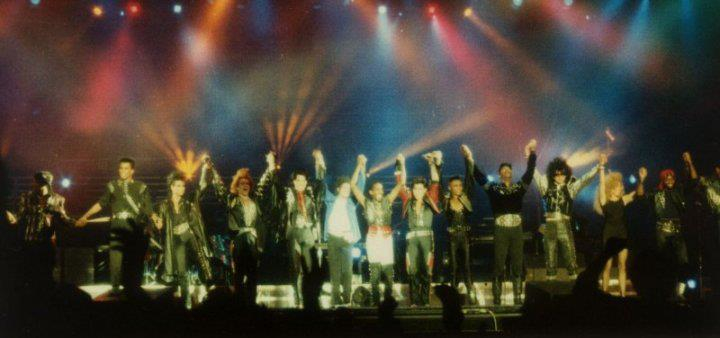 Band show end Bad tour