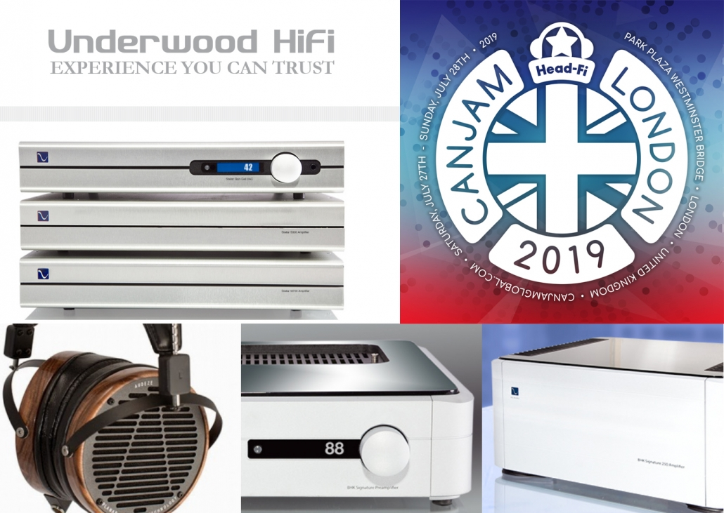 CanJam London 2019 sponsored by Underwood HiFi