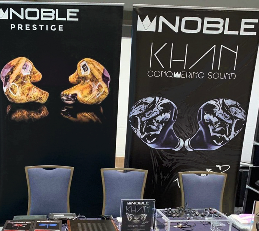 Noble Audio at RMAF 2019 (Rocky Mountain Audio Fest)