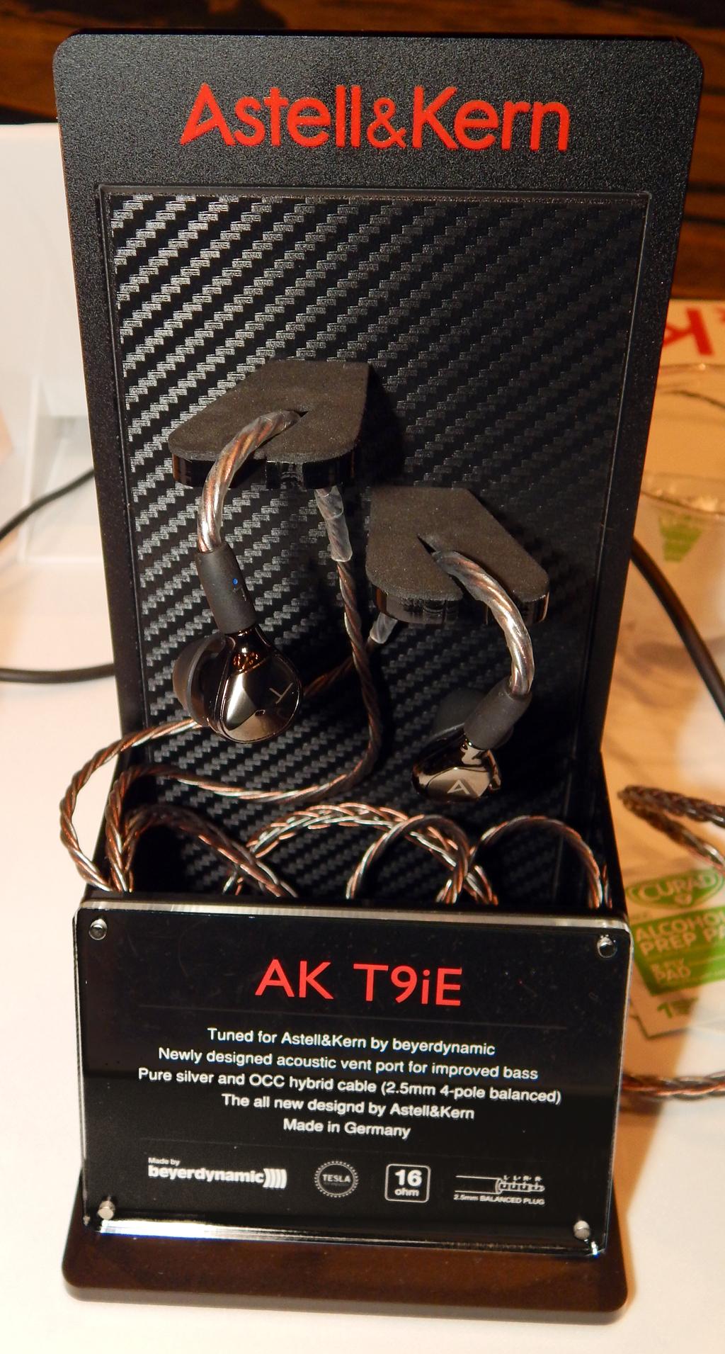 Astell&Kern/beyerdynamic AK T9iE IEM