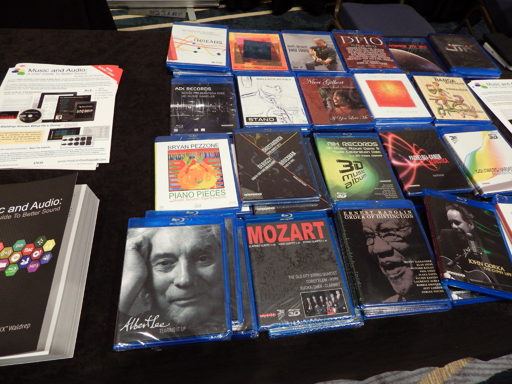 AIX Records Blu-Ray Audio discs