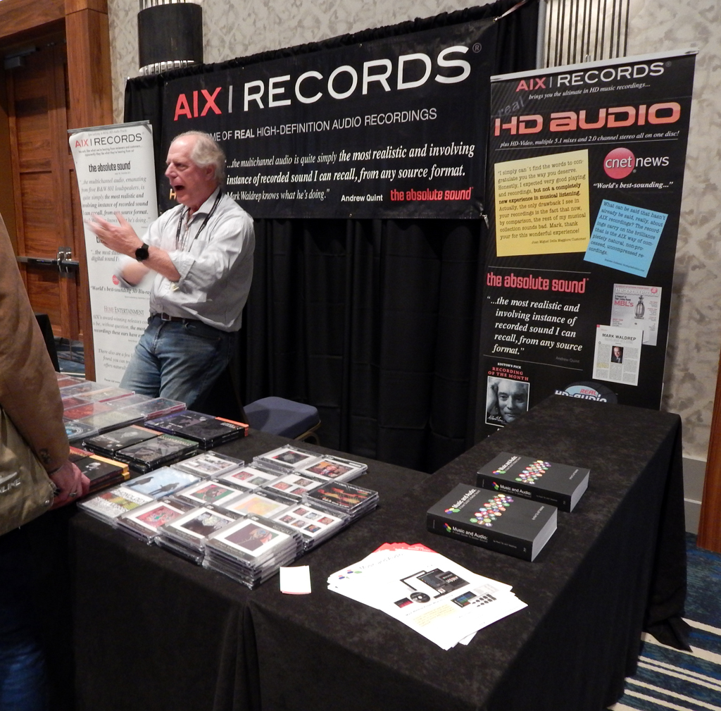 Mark Waldrep of AIX Records