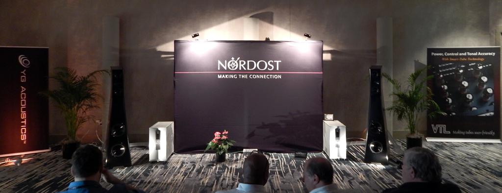 Nordost, VTL, YG Acoustics @ Rocky Mountain Audio Fest 2019 RMAF 2019
