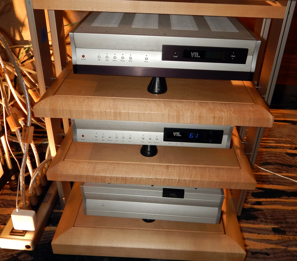 VTL TP-6.5 Series II Signature Phonostage, VTL TL-75 Series III Reference Linestage Preamplifier