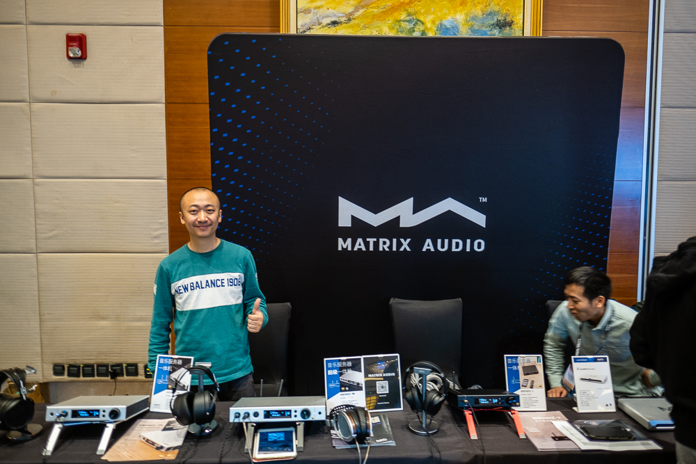 Matrix Audio CanJam Shanghai 2019