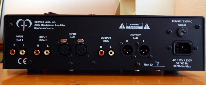 SparkoS Labs Aries Headphone Amplifier