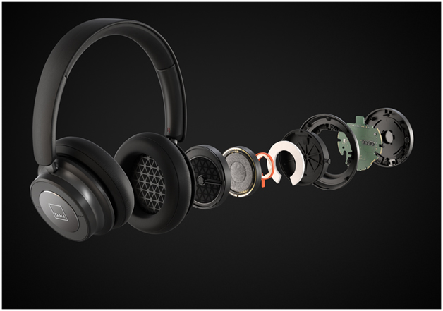 DALI IO-6 Bluetooth Active Noise Cancelling Headphones