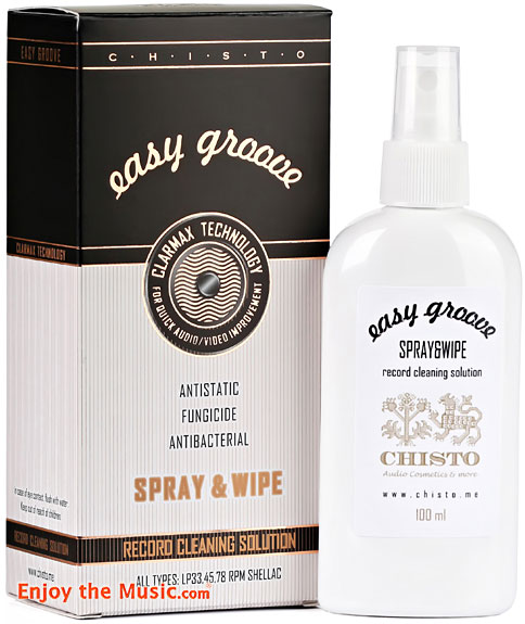 Chisto Easy Groove Solutions Concentrate, Virgin Concentrate, Extreme, Enzycaster, Concentrate, Spray & Wipe, Disk Analoguer, and Hi-End Show-Gloss Review By Tom Lyle