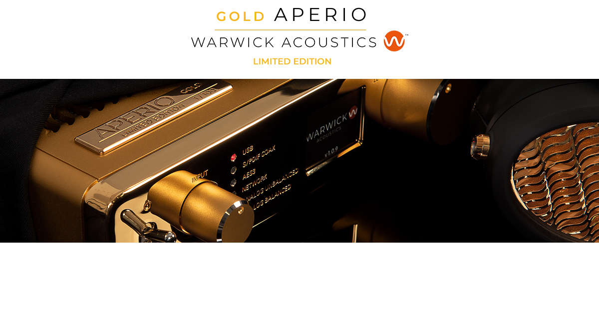 Warwick Acoustics Limited Edition Gold APERIO