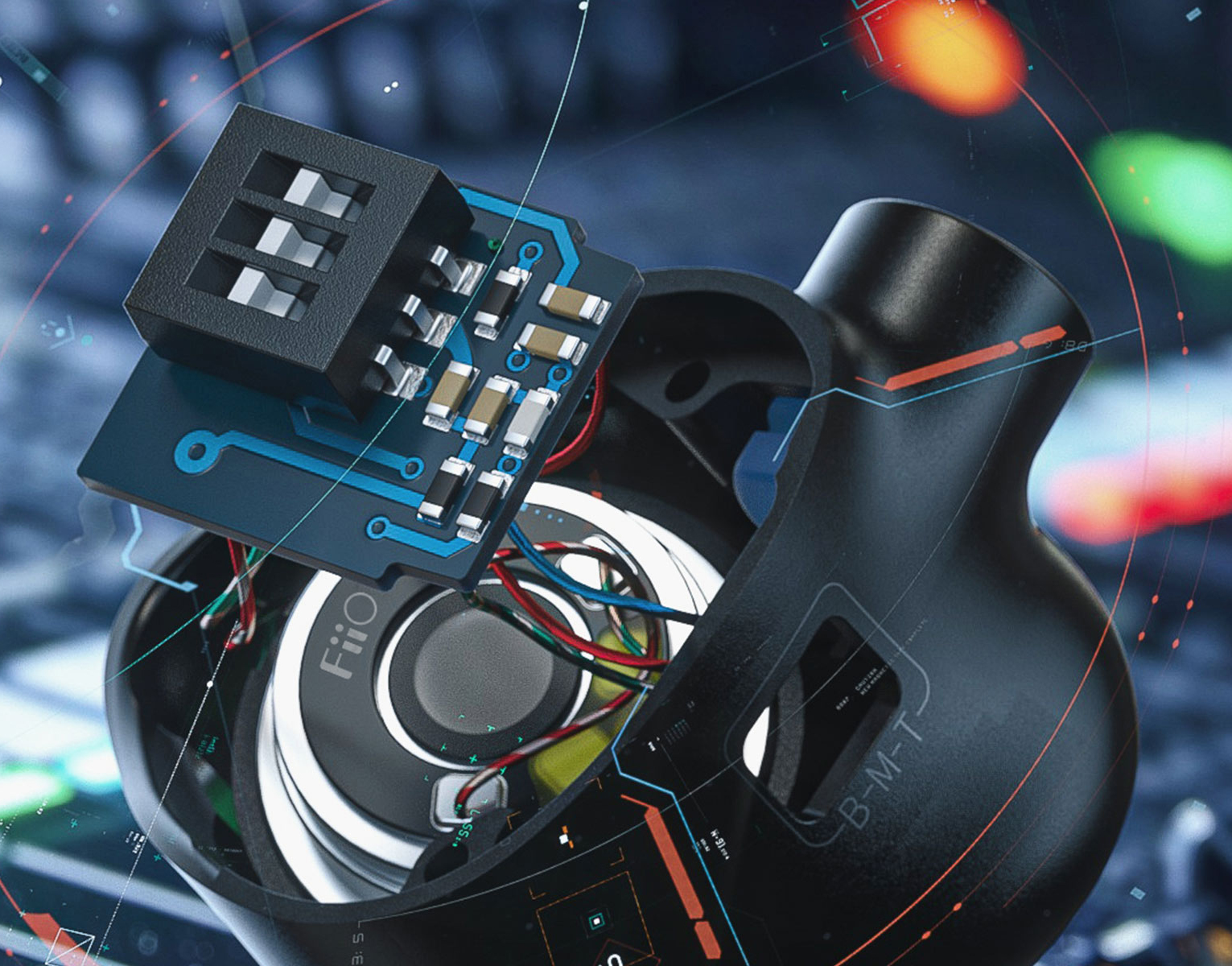 FiiO FH5s BA/Dynamic 4 Driver Hybrid IEM