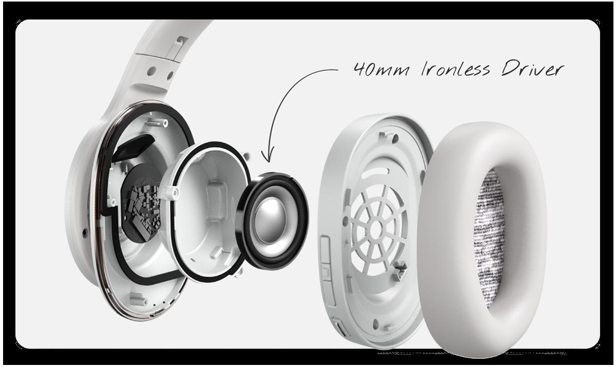 Cleer Enduro ANC Wireless Bluetooth Active Noise Canceling Headphone