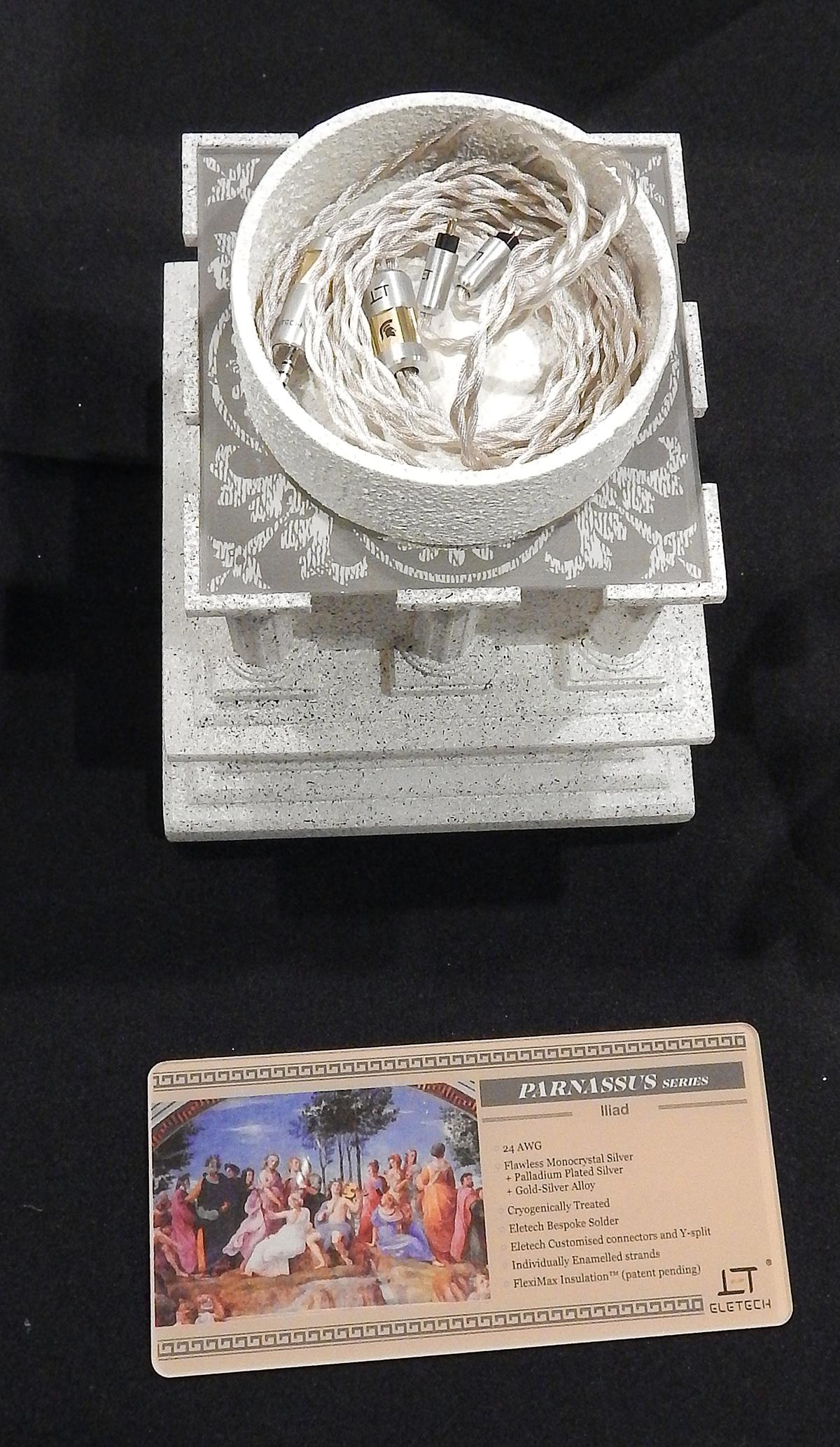 Eletech Iliad Gold/Silver Iem Cable CanJam SoCal 2021