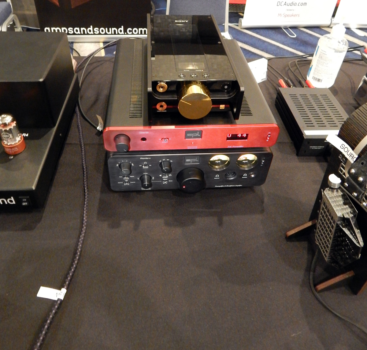 Sony DMP-Z1, SPL Director DAC Preamp, SPL Phonitor 2 Headphone Amplifier, RAAL|Requisite SR1a Earfield Monitors CanJam SoCal 2021