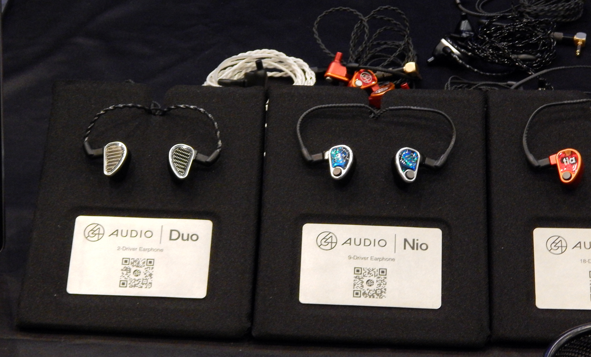 64 Audio Duo UIEM, 64 Audio Nio UIEM, 64 Audio U18t UIEM CanJam SoCal 2021