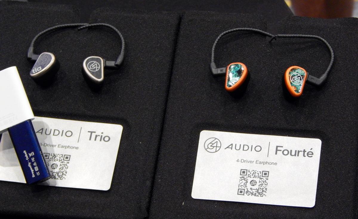64 Audio Trio UIEM , 64 Audio Fourté UIEM CanJam SoCal 2021