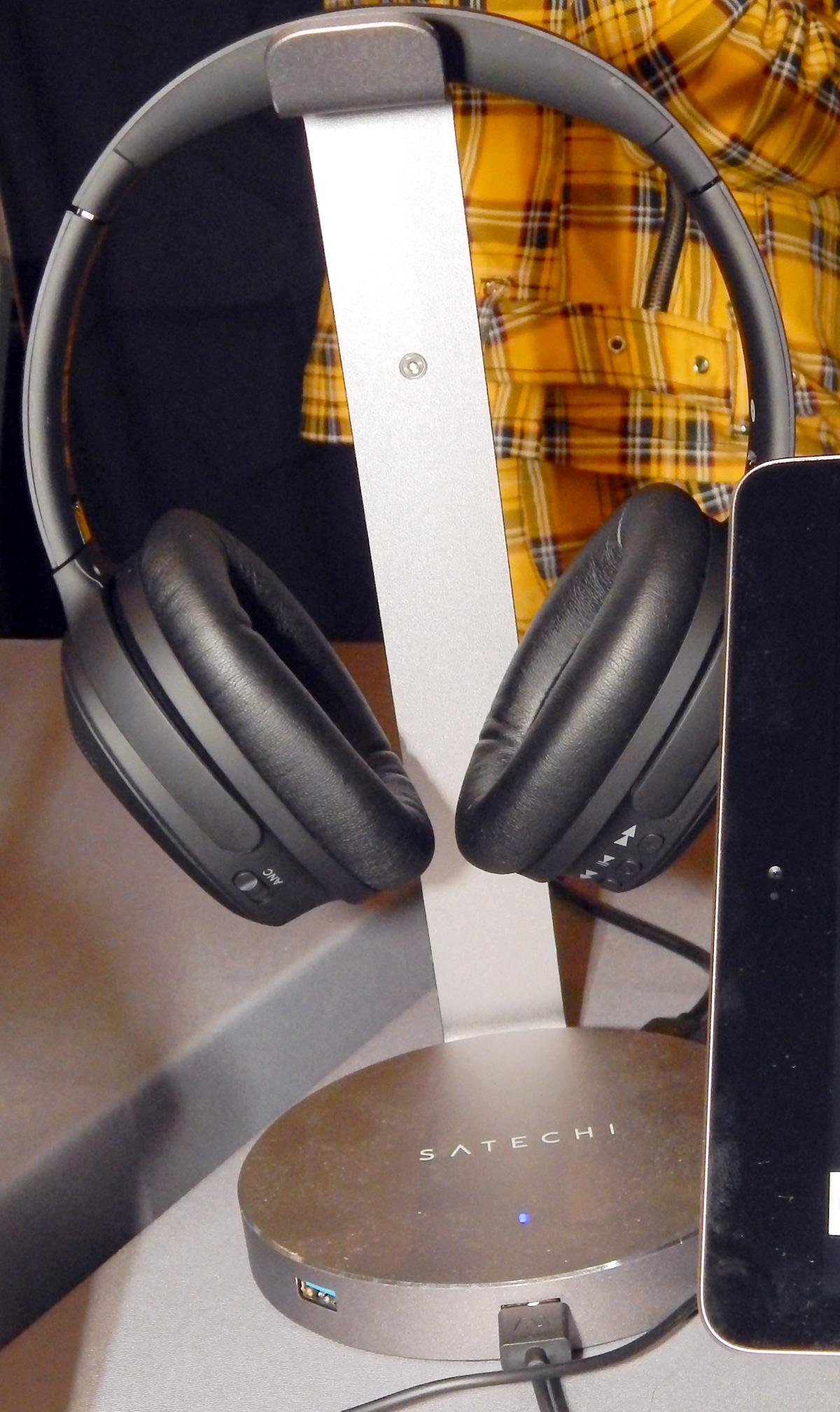 Ausounds AU-XT ANC Over-Ear Wireless Noise-Cancelling Headphone CanJam SoCal 2021