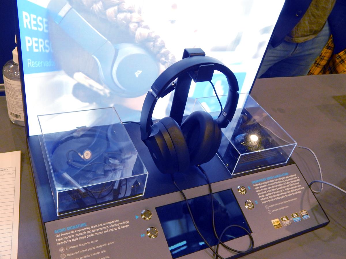 Ausounds AU-X ANC Noise Cancelling Planar Magnetic Headphone CanJam SoCal 2021