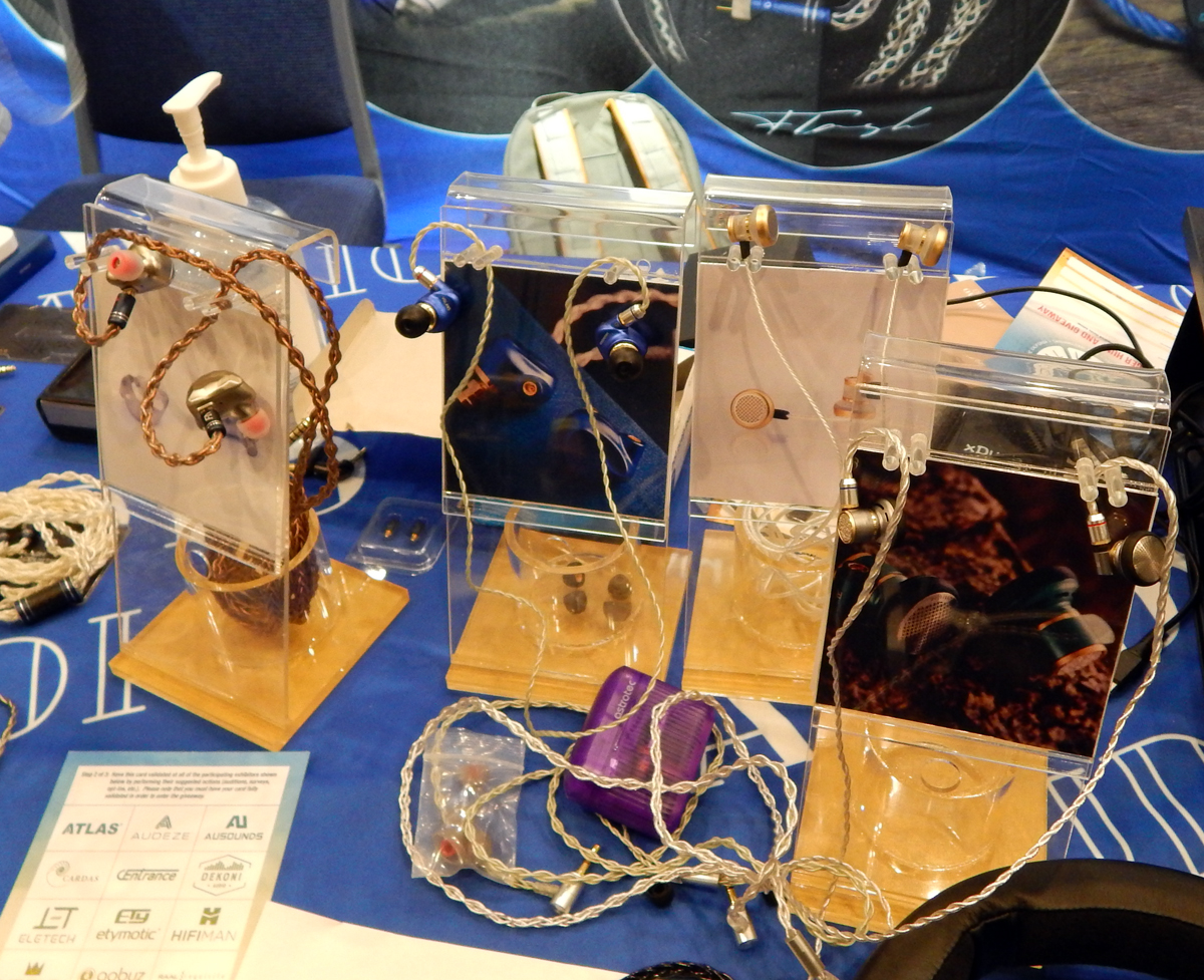 ikko OH10 IEMs, Astrotec Volans IEMs, Astrotec Lyra Mini Earbuds, Astrotec Lyra Nature Earbuds CanJam SoCal 2021